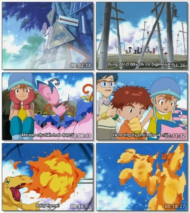 [Cartoon]Digimon Season 1 Việt sub Digiad041
