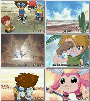 [Cartoon]Digimon Season 1 Việt sub Digiad1819