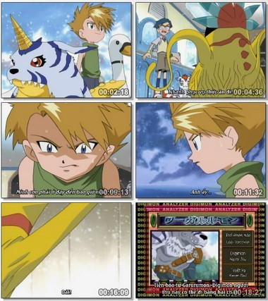 [Cartoon]Digimon Season 1 Việt sub Digiad23